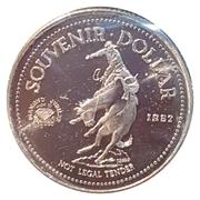 Souvenir Dollar - Calgary Stampede – obverse
