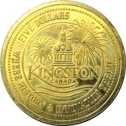 5 Dollars - Kingston 2000 – obverse