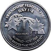 1 Dollar - Fort Erie, Ontario – obverse