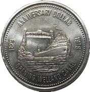 1 Dollar - Welland, Ontario – reverse