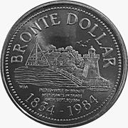 Bronte Dollar - Bronte, Ontario -  obverse