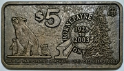 5 Dollars - Hornepayne, Ontario – obverse