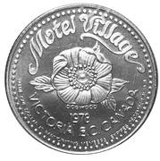 1 Dollar - Motel Village (Victoria, British Columbia) – reverse