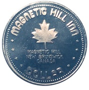 1 Dollar - Magnetic Hill Inn – obverse