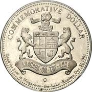 1 Dollar - Niagara-on-the-Lake, Ontario -  obverse