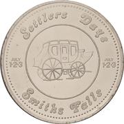 1 Dollar - Smiths Falls, Ontario – reverse