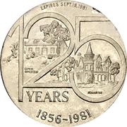 1 Dollar - Paris, Ontario – reverse