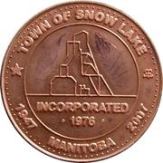 5 Dollars - Snow Lake, Manitoba – obverse