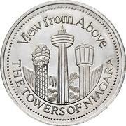 Trade Dollar - Niagara Falls, Ontario – reverse