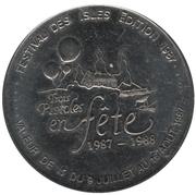 1 Dollar - Festival des Isles (Trois-Pistoles, Québec) – reverse