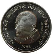 1 Dollar - Magnetic Hill (Moncton, New Brunswick) – reverse