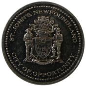 Gilbert Dollar - St. John's, Newfoundland -  obverse
