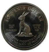 Souvenir Dollar - Wabush, Labrador – reverse