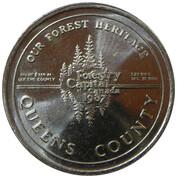 1 Dollar - Queens County – reverse