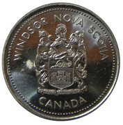 Trade Dollar - Windsor, Nova Scotia – obverse