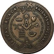 Fraternal Token - Royal Black Knights of Ireland (Woodstock, Ontario) – obverse
