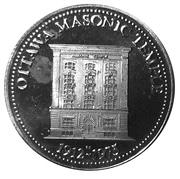 Token - Ottawa Masonic Temple 1912-1975 – obverse