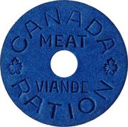 Token - Canada Ration (Meat/Viande) – obverse