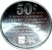 50 Cents - McDonald's – obverse