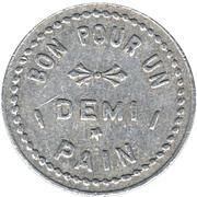 ½ Pain - Jos. Leclerc, boulanger (Metabetchouan, Québec; with stars) – reverse