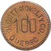 5 Cents - Olcott Novelty Co. (Québec, Québec) – obverse