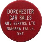 5 Cents - Dorchester Car Sales And Service Ltd. (Niagara Falls,  Ont.) – obverse