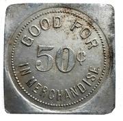 50 Cents - T.L. Wurm (Zurich, Ontario) – reverse