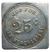 25 Cents - T.L. Wurm (Zurich, Ontario) – reverse