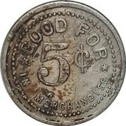 5 Cents - Goode & McKay (Walkerton, Ontario) – reverse