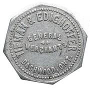 25 Cents - Tieman & Edighoffer (Dashwood, Ontario) – obverse