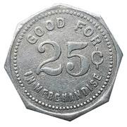 25 Cents - Tieman & Edighoffer (Dashwood, Ontario) – reverse