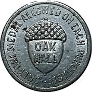 25 Cents - Oak Hall – obverse