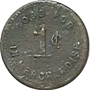 1 Cent - A.J. Babb (Milbank, Ontario) – reverse
