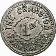1 Cent - J.E. Klager's Grocery (Hespeler, Ontario) – reverse