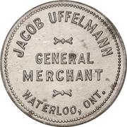 25 Cents - Jacob Uffelman (Waterloo, Ontario) – obverse