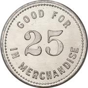 25 Cents - Jacob Uffelman (Waterloo, Ontario) – reverse