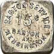 15 Cents - Barton Service (Hamilton, Ontario) – obverse