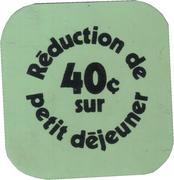 40 Cents discount on breakfast-food service Université Laval (Sainte-Foy, Québec) – reverse