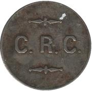 5 Cents - Calgary Regiment Canteen (Calgary, Alberta) – obverse
