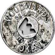 1 Cent - Woodward's (Vancouver, British Columbia) – obverse