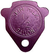 ½ Gallon Skim Milk - Glen Rae (Ontario) – reverse