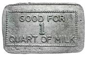 1 Quart Milk - Fairholme dairy (Clinton, Ontario) – reverse