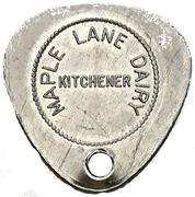 1 Quart - Maple Lane Dairy (Kitchener, Ontario) – obverse