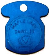 ½ Gallon Skim - Maple Lane Dairy (Kitchener, Ontario) – obverse