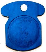 ½ Gallon Skim - Maple Lane Dairy (Kitchener, Ontario) – reverse