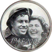 Token - 60 Years of the Liberation of the Netherlands – obverse