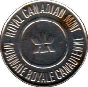 Token - Royal Canadian Mint (Celebrating 100 years) – reverse