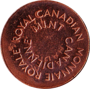 Royal Canadian Mint Token (Canada Day 2013) – reverse