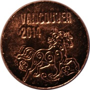 Royal Canadian Mint Token - Vancouver (Year of the Horse) – obverse