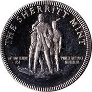 Sherritt Mint Medallion - Bank of Nova Scotia Directors' Visit – reverse
